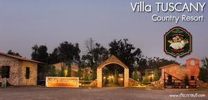 Villa Tuscany Country Resort (อ.สวนผึ้ง)