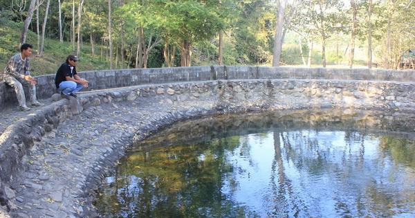 บ่อพุน้ำร้อนโป่งกระทิง (อ.บ้านคา)